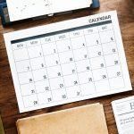 新しい手帳の季節