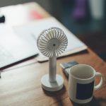 夏と我が家と扇風機